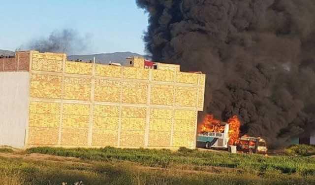 Protesters Burn Police Buildings in Al Hoceima