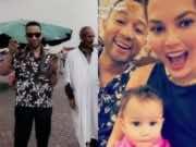 John Legend and Chrissy Teigen Vacationing in Marrakech