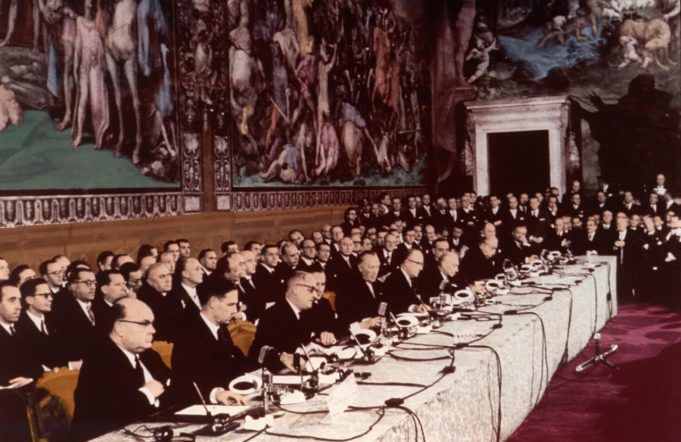 the sixtieth anniversary of the Treaty of Rome