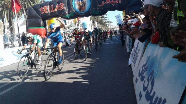 American Keough Luke Wins Second Stage of Morocco's Cycling Tour