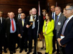 Andrew Parmley, the Lord Mayor of London, headed a British delegation in a visit to Casablanca,