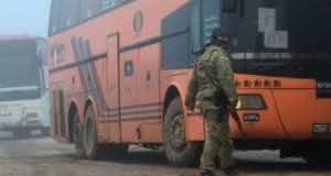 Car Bomb Kills 16 Syrian Bus Evacuees
