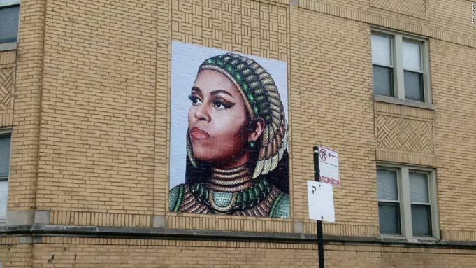 Chicago Mural of Michelle Obama Stirs Controversy