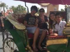 Cristiano Ronaldo's Family Members Enjoy Marrakech