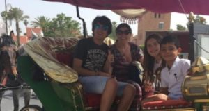 Cristiano Ronaldo's Family Members Enjoy Marrakech
