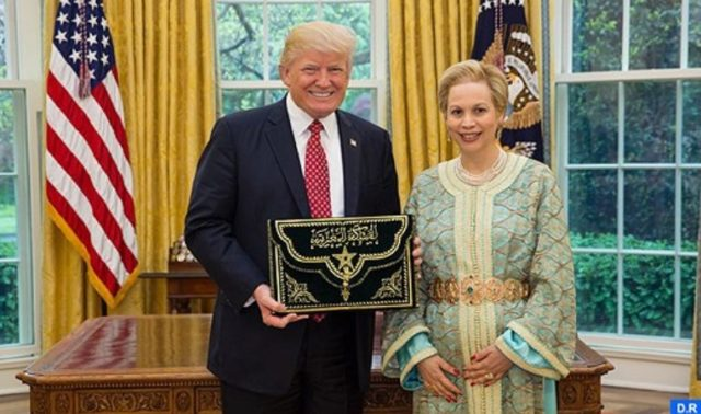 Donald Trump Receives New Moroccan Ambassador