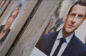 French Election Marine Le Pen Macron