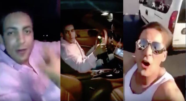Hamza Darham, the infamous young Moroccan Ferrari driver whose selfie video went viral