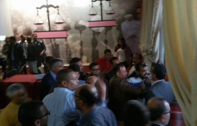 Istiqlal Party: Brawl Among Hamid Chabat and Hamdi Ould Rachid Supporters
