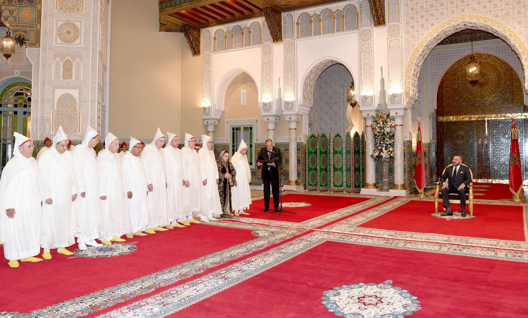 King Appoints President, Members of Constitutional Court