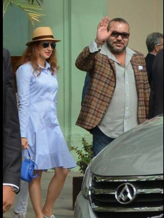 King Mohamed VI and Family Spotted in Cuba