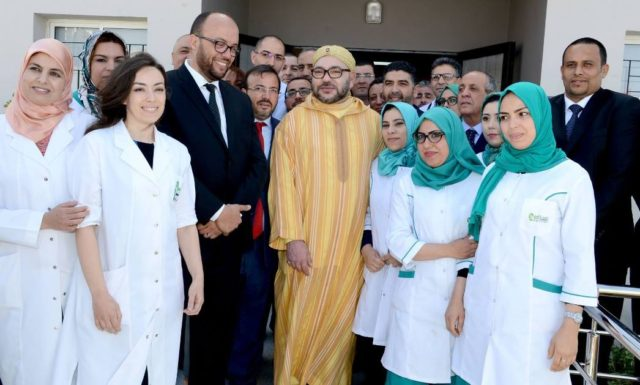 King Mohammed VI Launches Two Projects in Casablanca
