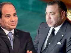 King Mohammed VI and Abdelfattah El-Sissi