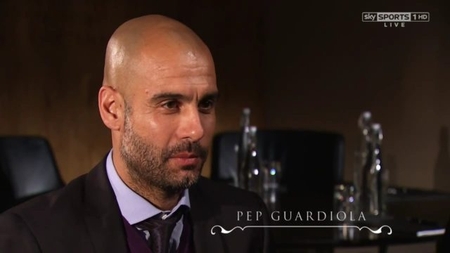 Manchester City coach, Pep Guardiola