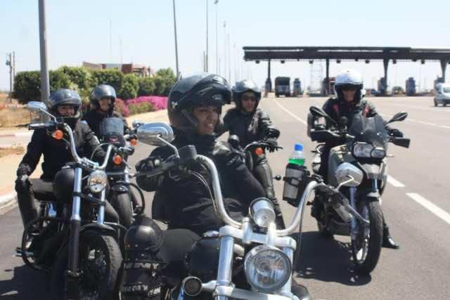 Miss Moto Maroc Celebrates Female Bikers in Morocco