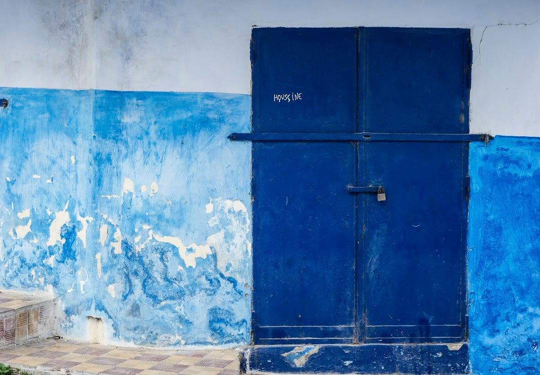 One of many of the doors in Oudayas on April 11, 2017 in Rabat Morocco. Photo by Tyler Brock Morocco World News.