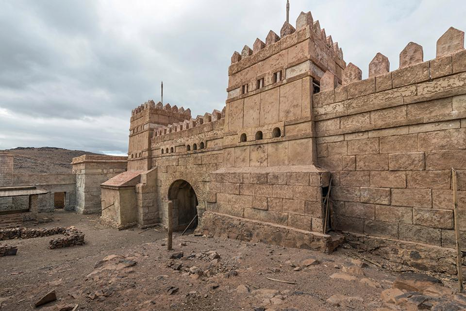 Pictures Show Abandoned Moroccan Film Sets Once Home to Hollywood Productions