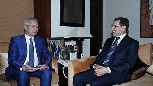 Saad Eddine El Othmani, held talks here on Thursday with President of the French National Assembly Claude Bartolone