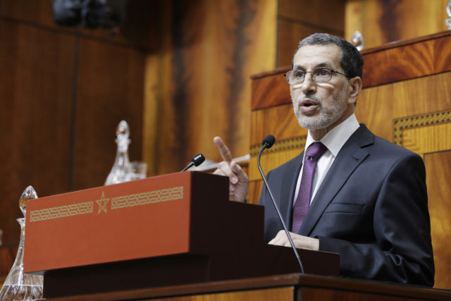 Saad Eddine El Othmani presented the government program to both Houses of Parliament