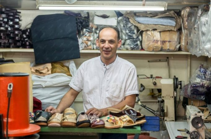 Starting with 'Empty Pockets', Syrian Refugee Becomes Successful Shoemaker