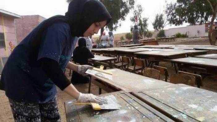 Student Volunteers Work to Improve Rural Settat Schools