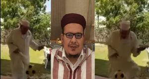 Video Imam Omar Kazabri Skillfully Juggles a Football