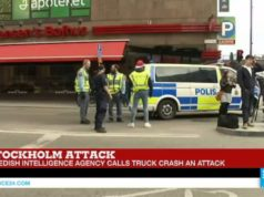 Sweden: Truck Attacks Pedestrians, Kills Two, Injures Many