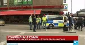 Sweden: Truck Attacks Pedestrians, Kills Two, Injures Many