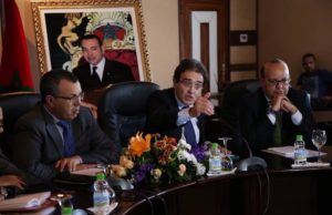 the Minister in charge of Moroccans Residing Abroad and Immigration Affairs, Abdelkrim Benatiq