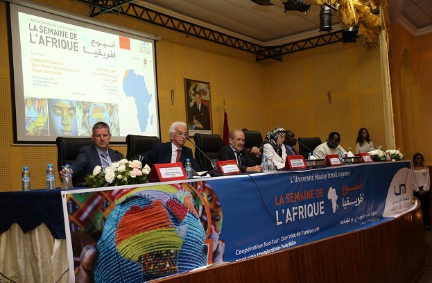 16,000 African Students in Morocco Over 1,040 in 1994 Moulay Ismail University
