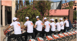 Africa's first cycle-share scheme launches in Marrakech