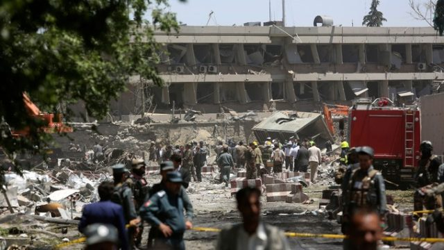 At Least 80 Dead after Bombings Shake Kabul