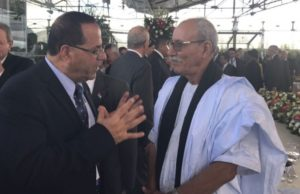 Polisario Leader Pictured With Israeli Minister, Pro-Palestine Claims Fall Apart