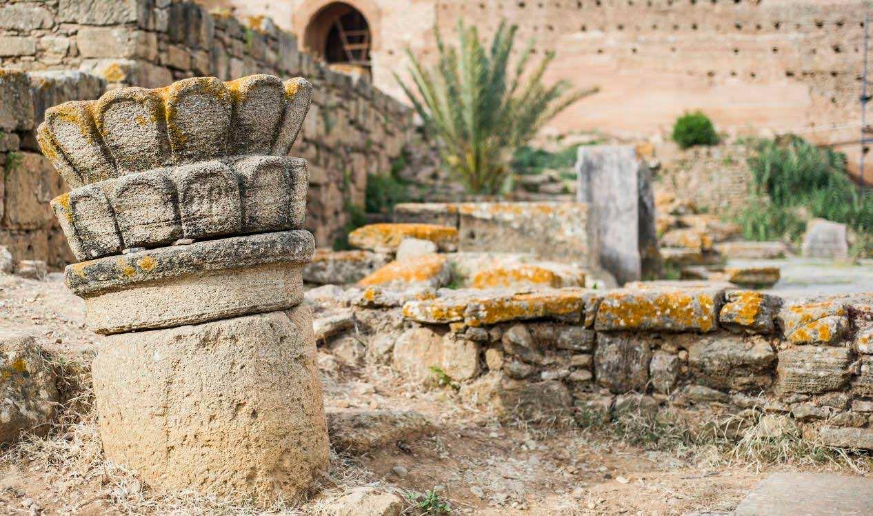 Chella ruins, Rabat Morocco