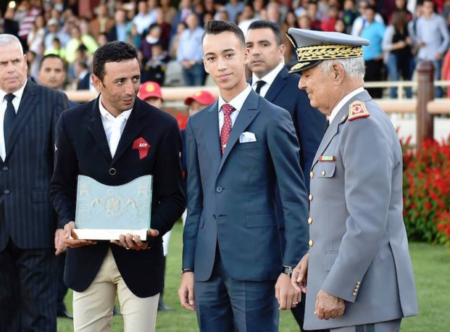 Crown Prince Moulay El Hassan Chairs Awards Show-Jumping Ceremony