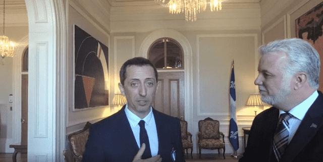 Gad Elmaleh Receives Quebec's highest Honour
