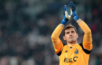 Real Madrid's former goalkeeper,Iker Casillas