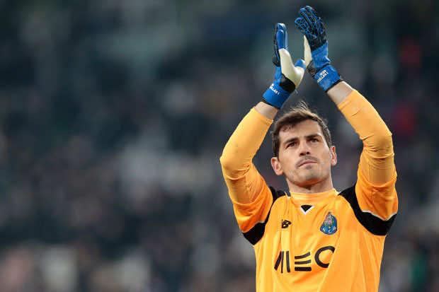 Real Madrid's former goalkeeper,Iker Casillas
