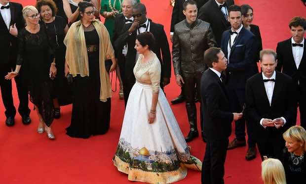 Israeli Culture Minister Sparks Outrage with Dress Depicting Jerusalem, Pro-Palestinians Fire Back