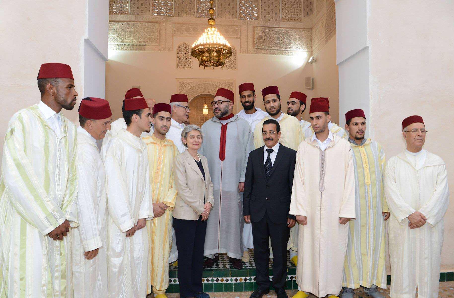 King Mohammed VI in Fez Medina