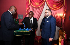 King Mohammed VI Awarded Grand Cross of the Order of La Pleiade