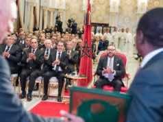 King Mohammed VI in Rabat