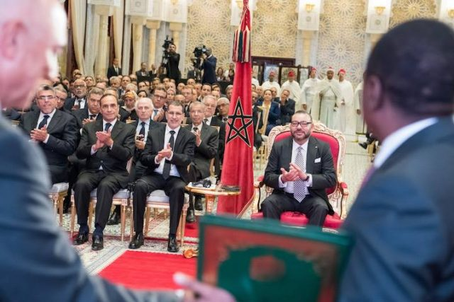 King Mohammed VI in Rabat