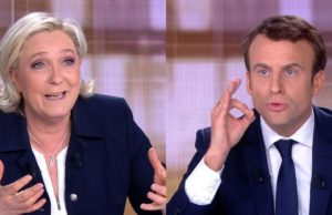 Marine Le Pen and Emmanuel Macron in final French presidential debate