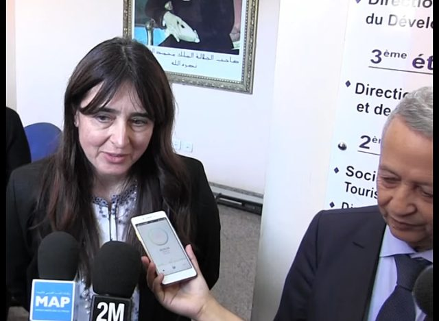 Minister Delegate in Charge of Tourism Lamia Boutaleb