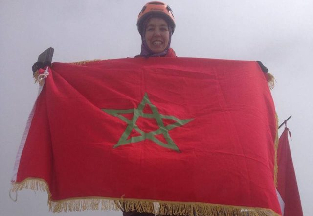 Moroccan Mountaineer Bouchra Baibanou Summits World's Highest Mountain