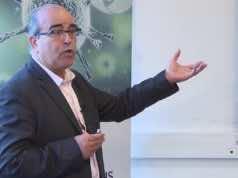 Moroccan professor Jamal Tazi