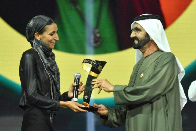 Moroccan 'Refugees Angel' Crowned 'Arab Hope Maker' in Dubai