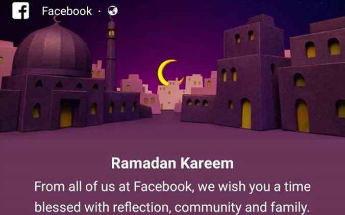 Ramadan kareem greetings from social media m4hsunfo