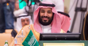 Saudi Defense Minister and Deputy Crown Prince Mohammed bin Salman